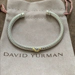 David Yurman X crossover cuff bracelet!